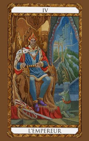 el emperador combinaciones según el diseño del Tarot Ambre