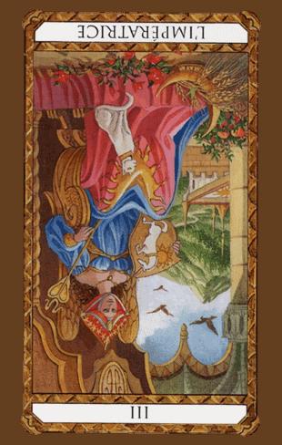 la emperatriz tarot ambre invertida