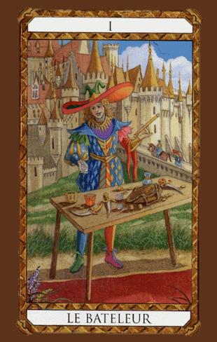 el mago combinaciones diseño del tarot ambre
