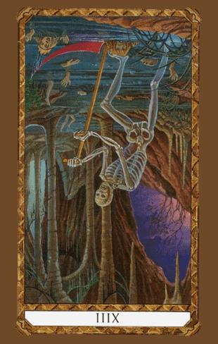 la muerte tarot ambre invertida