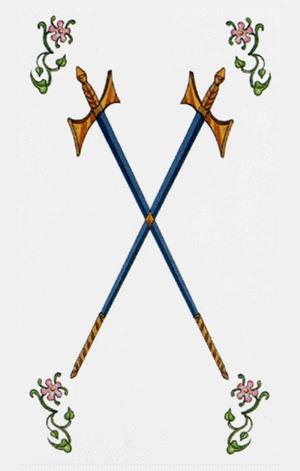 dos de espadas arcanos menores según tarot ambre