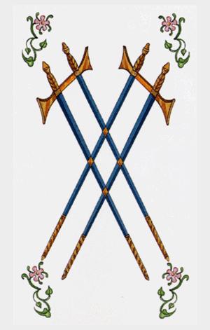 cuatro de espadas arcanos menores tarot ambre
