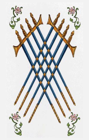 ocho de espadas arcanos menores según tarot ambre