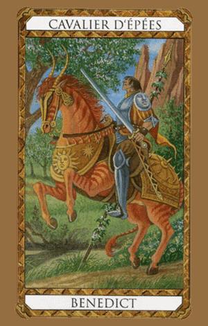 caballero de espadas arcanos menores según tarot ambre