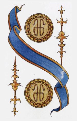 dos de oros arcanos menores según tarot ambre