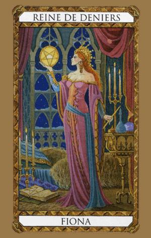 reina de oros según tarot ambre