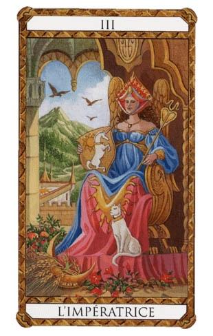 la emperatriz arcanos mayores tarot ambre